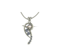 ARY Jewellers Silver Locket L05