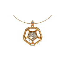 ARY Jewellers Silver Locket L06