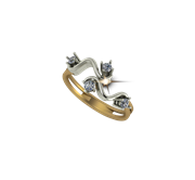 ARY Jewellers Silver Ring R37