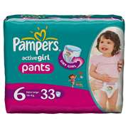 Pampers Active Value Pants [Size 6, 33 Counts]