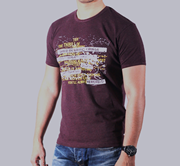 Red Tree Brown-Tshirt Try Thrill RT-1346