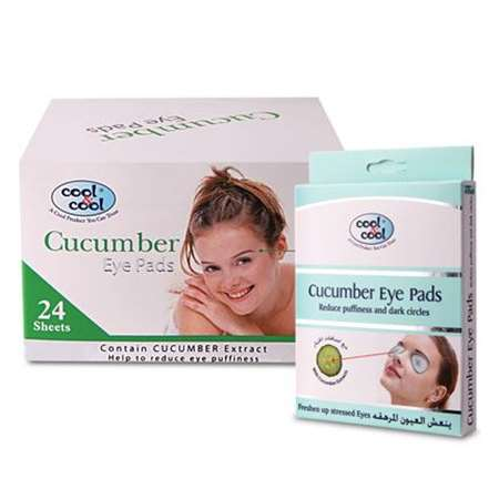 Buy Cucumber Eye Pads 4's  online