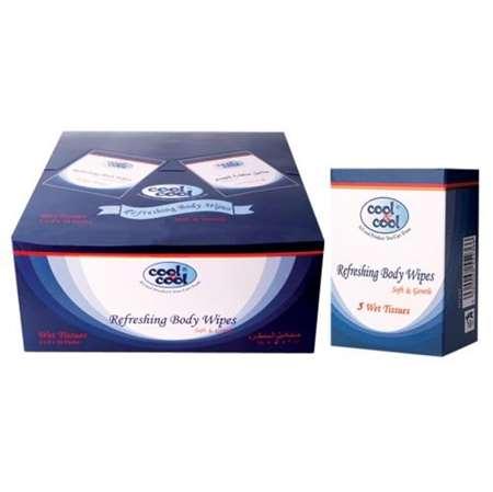 Buy Refreshing Body Wipes 5's  online