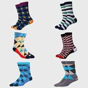 The WareHouse Unisex Pack of 6 Pairs Socks