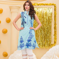 Pal Unstitched Printed Embroidered Lawn Shirt PLK-003
