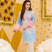 Pal Unstitched Printed Embroidered Lawn Shirt PLK-014