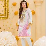Pal Unstitched Printed Embroidered Lawn Shirt PLK-002