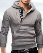 Big Deal Stylish Grey Swag Hoodie