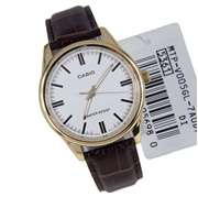 Casio MTP-V-005GL  - Analog Watch For Men - Brown