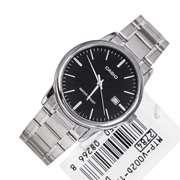 Casio MTP-V-002D - Steel Analog Watch For Men - Grey