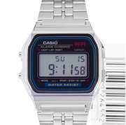 Casio A159W - Steel General Digital Watch For Men - Grey