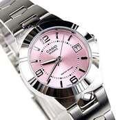 Casio LTP-1241D - Steel Analog Watch For Women - Grey