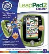 Buy LeapFrog LeapPad2 Explorer Kids' Learning Tablet, Green  online