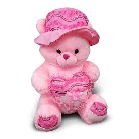 Buy Extra Cuddly & Soft Pink Teddy Bear  online