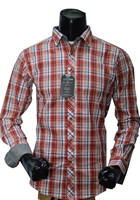 Bluetag BLT-CC9 Red & Blue Checked Print