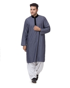 Zia Collection Designs Men Purple kurta