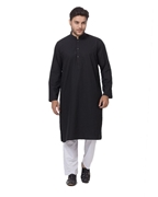 Zia Collection Designs Men Black kurta