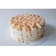 Vanilla Caramel Crunch cake