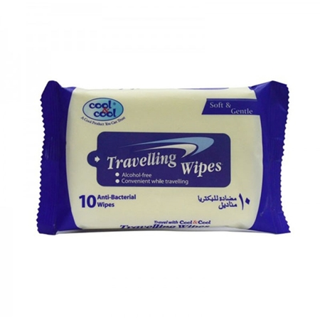 Buy Travelling Wipes 10's  online