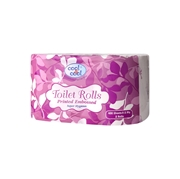 Toilet Roll 1x2x400's Printed Embossed
