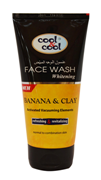 Whitening Face Wash for Men Banana & Clay 150ml
