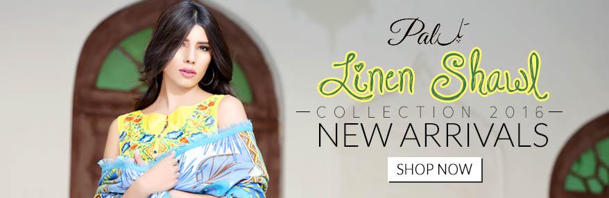 Pall Linen Shawal Available At ARY Sahulat Bazar
