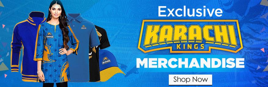 karachi kings Merchandise Stuff Available At ARY Sahulat Bazar