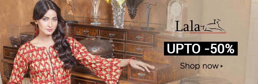 Lala 50% off Available ARY Sahualat Bazar